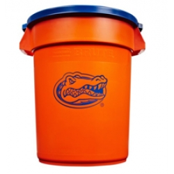 Rubbermaid® Team BRUTE® Florida Gators Trash Can