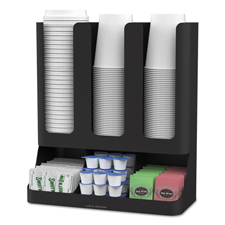 Flume Six-Section Upright Coffee Organizer