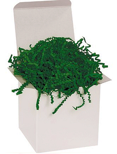 Forest Green Crinkle Cut 10 pound