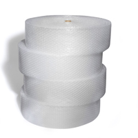 3/16x300 4 rolls of 12 roll  Perf 12 Bubble Wrap