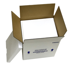 9.5X7.5X10.5 Fridge Styrofoam Coolers Pack of 2 coolers