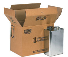 F Style Hazardous Shipping Box