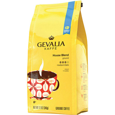 Free Gift:Gevalia House Blend Coffee with an order of $475