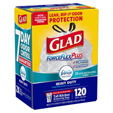 Glad ForceFlex Tall Kitchen 13 Gallon