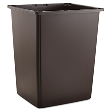 Rubbermaid� Glutton� 56 Gallon Trash Can Brown