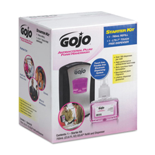 GoJo Antibacterial Foam Handwash Refill Dispenser Kit