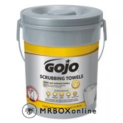 Gojo Heavy Duty Scrubbing Wipes