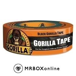 Gorilla Black Duct Tape 2x35yds