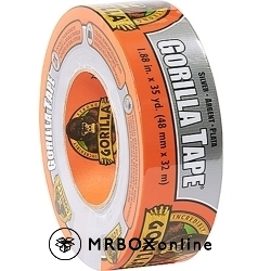 Gorilla Silver Duct Tape 2x35yds