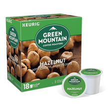 Green Mountain Hazelnut Coffee with a $475 order