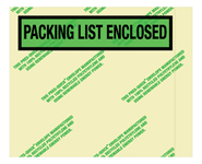 7x5.5 Packing List Environmental Envelope