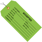 Accepted Inspection Green Tags 4.75x2.375