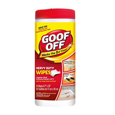 Goof Off Heavy Duty Wipes