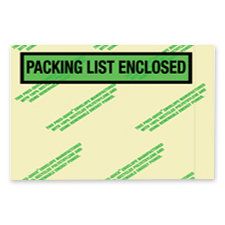 4.5x5.5 Packing List Environmental Envelope