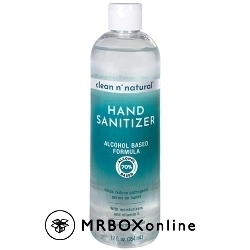 Clean n Natural Hand Sanitizer with a $325 order