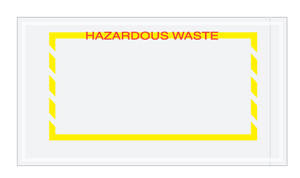 "5.5""x10\"" Hazardous Waste Document Envelopes"