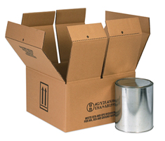 Hazmat Paint Shipping Boxes