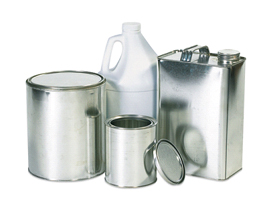 Hazmat Bulk Paint Cans and Jugs
