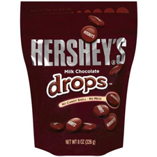 Free Gift:Hershey Drops free with an order of $225