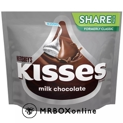 Hershey's Kisses Milk Chocolate with an order of $325
