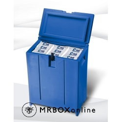 4 Cubic foot Insulated Chest Containers