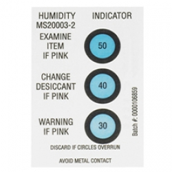 2x3 Humidity Indicator Card 30 40 50