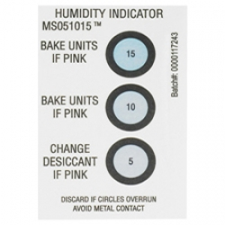 2x3 Humidity Indicator Card 5 10 15