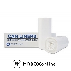 43x48 12 Micron Clear Can Liner