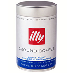 Free Gift:illy Italian Coffee with an order of $525.00