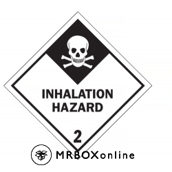 Inhalation Hazard Labels 4x4