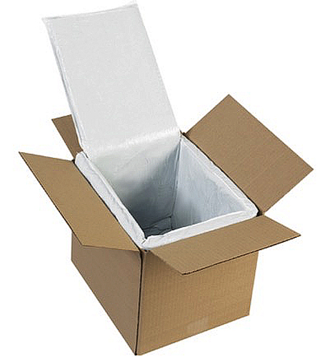 10x8x8 Thermal Insulated Box Liners