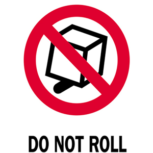 3x4 Do Not Roll IP Labels