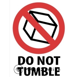 3x4 Do Not Tumble labels
