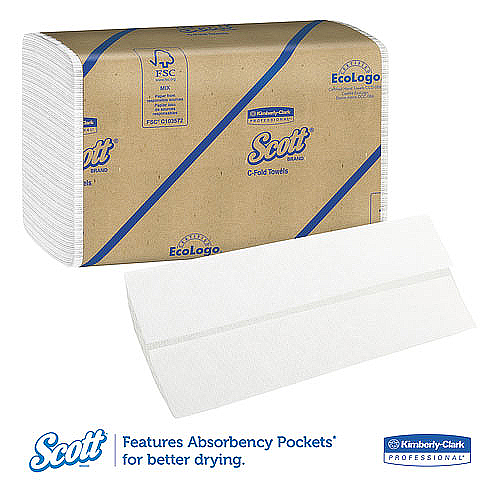 Scott C-Fold Towels