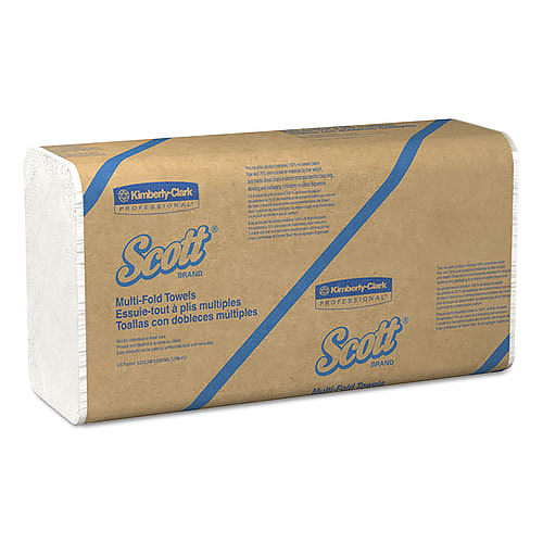 Scott� Multifold Hand Towel White