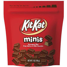 Free Gift:Kit Kat Mini's Candy with a $325 order