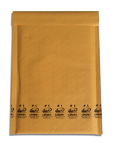 Lucky Dog Kraft Bubble Mailers Envelopes� #2 8.5x10.875""