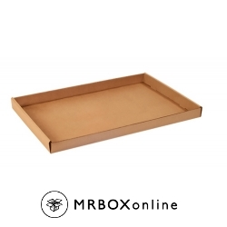 24x15x1.75 Kraft Corrugated Trays