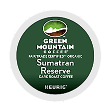 Keurig GREEN MOUNTAIN COFFEE� Sumatran Reserve