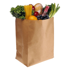 Grocery Bags Brown paper
