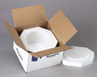 Styrofoam Lab Ware Shippers