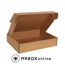 18.25x16.75x4 Kraft Deluxe Literature Mailer Boxes