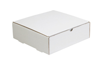 9x6x2 White Die Cut Mailer Boxes