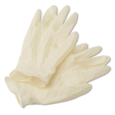Latex Gloves Powdered Large