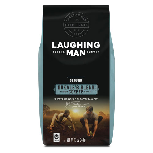 Laughing Man Dukale's Blend Coffee with a $525 order