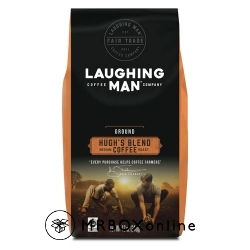 Laughing Man Coffee Hugh's Blend Medium Roast with a $525 order