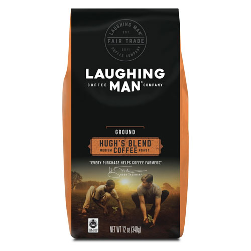 Laughing Man Hugh's Blend Coffee with a $525 order