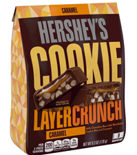 Hershey Cookie Layercrunch with a $525 order