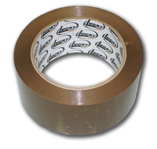 Lucky Dog 3x110 1.8 Tan Box Sealing Tape