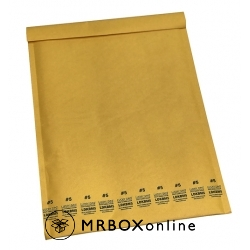 10.5x14.875 Lucky Dog Kraft Bubble Mailers #5